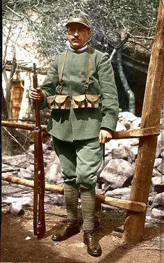 Italian soldier of WWI