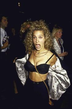 Party like you're Sarah Jessica Parker in the 90s. #saturday #weekend #SJP #sarahjessicaparker #fashion #style #icon #actress #actor #90s #nineties #party #celebrate #funny #fashionicon #fashiongram #stylegram #fashionaddict #styleicon #fashionicon #love #inspo #inspiration #vintage #retro