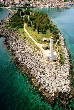 The Lighthouse in Gythio (Peloponnese), Greece