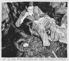 gesprekken met hedendaagse kunstenaars: Interview met Rinus Van De Velde