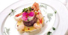 """""""Tartara di tonno al profumo di aglio"""" dello chef Yoshitsugu Suzuki del Ryutario Suzuki  #lamadia #lamadiatravelfood #food"""
