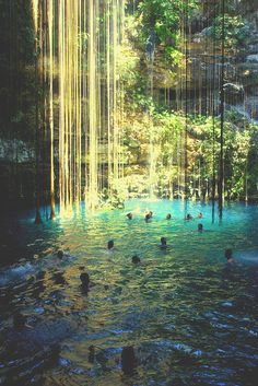 #waterfall #pool #nature