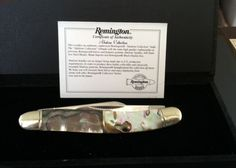 BLADE LIST - Knife, Sword, Blade FREE Classified ads: REMINGTON ABALONE SERPENTINE LIMITED EDITION COLLECTOR'S KNIFE, Limited Edition Knives Limited Edition Folding knives Listing Details