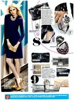 Cosmopolitan October 2012 - Mila Schön dress