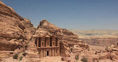 The Monastery - das Kloster - in Petra, Jordanien