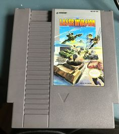 Vintage Hard To Find Nintendo NES Game Laser Invasion