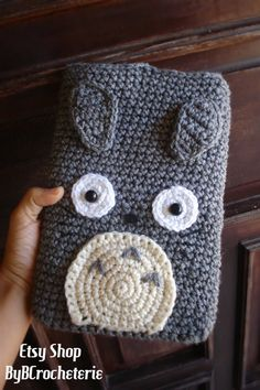 Totoro iPad Tablet Kindle cozy by ByBCrocheterie on Etsy, $22.00