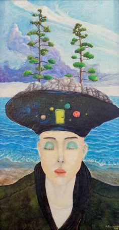 DREAM | 47 x 87 cm | Acrylic and Oil Painting on Hardboard | by Krzysztof Polaczenko ® 2014