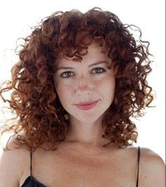 Natural-Ginger-Curly-Hair-Cut Cute Short Curly Hairstyles for Sweet View