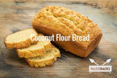 Coconut Flour Bread Recipe #food #paleo #coconutflour #paleobread #glutenfree