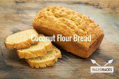 Coconut Flour Bread Recipe #food #paleo #coconutflour #paleobread #glutenfree