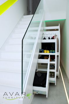 Under Stairs Cupboard Storage, maximize the use of space from Avar Furniture