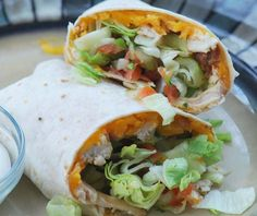 Applebees Chicken Fajita Rollup.    Have to try this for sure.