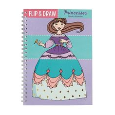 Princess Flip & Draw Sketch Pad from Mudpuppy Toys - USA at Pumpkinheads