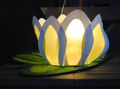 Lampionnen maken: waterlelie, vliegende schotel of leeuwenkop