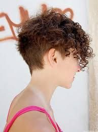 Image result for short hairstyles for curly hair and oval face