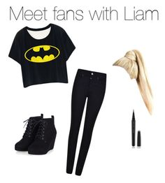 """Meet Fans with Liam"" by onedxoutfits on Polyvore featuring Armani Jeans, Marc Jacobs, women's clothing, women, female, woman, misses and juniors"