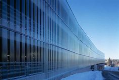 Akershus University Hospital, multi-storey car park  C.F. Møller
