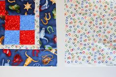 Downy Touch Of Comfort – Quilts for Kids (& making a FOUR-PATCH QUILT) | Make It and Love It