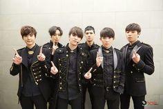 Teen Top - Chunji, Niel, L.Joe, C.A.P, Ricky, and Changjo