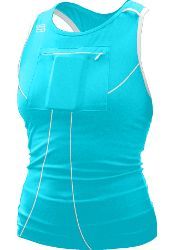 workout tank with a front pocket for iPod, hole and shoulder holders for earbuds! Gracies Gear and Training $36