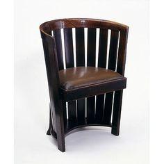 Chair by Charles Rennie Mackintosh ~Repinned Via Baldur Bear