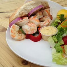 RD Tip of the Day : Shrimp Poboy Recipe from a Louisiana Registered Dietitian