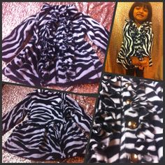 Fleece Ruffled Peacoat 6 Mo.6Yrs. by Kattramirez on Etsy