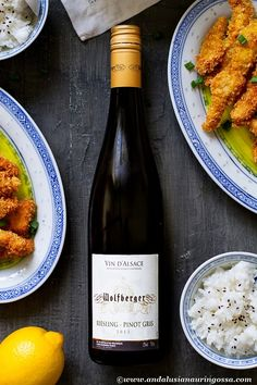 This wonderful Wolfberger combines the best of the two most typical varieties in Alsace. Ripe fruitiness of Riesling and mineral acidity of Pinot Gris make this a great wine pairing for variety of Asian dishes! Recipe for one on the blog!
