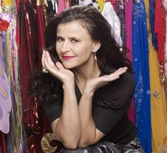 Tracey Ullman is a British stage and television actress, comedienne, singer, dancer, director, screenwriter and author.  The Simpsons ran on her variety show for three seasons, before the characters spun off to their own show we know and love today.