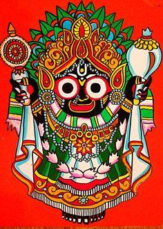 Jagannath Images are very popluar item among the Jagannath Believer. Here we put in 51 best Images of Lord Jagannath from all over the internet. Ganesha Art, Krishna Art, Hare Krishna, Madhubani Art, Madhubani Painting, Traditional Paintings, Traditional Art, Phad Painting, Rajasthani Art