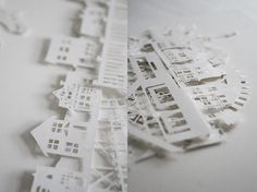 #houses #papercutting #cut_paper