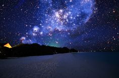 Maldevian Starry Sky by Dominick Kamp http://www.flickr.com/photos/dominic_kamp/3495695552/in/photostream