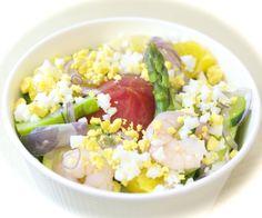 サラダランチ:まるごとトマトのミモザサラダ ♬