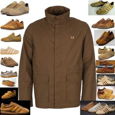 I love the close cameraderi between Fred Perry and adidas from where the adidas wearing Perry Boys came - here we have a Fred Perry Field jacket teamed up with aid's finest Tobaccos, some very rare, some vintage, all desirable