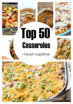 Top 50 Casseroles by Crystal of Cooking with Crystal Today I have gathered up the Top 50 Casseroles! This is the perfect list for the soon-to-be fall weather. There are all sorts of delicious recipes in this compilation. My favorites are the seafood casserole, twice baked potato casserole (which is always great for Thanksgiving …