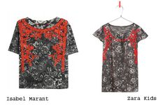 Isabel Marant vs Zara kids