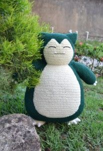 CROCHET - POKEMON - Snorlax Pattern