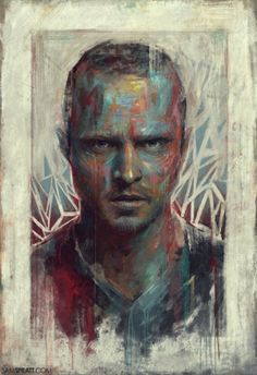 Pop-Culture Portrait Paintings on Behance