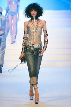 Jean Paul Gaultier Spring 2020 Couture Fashion Show - Jean Paul Gaultier Spring 2020 Couture Collection – Vogue - Haute Couture Paris, Spring Couture, Couture Week, Jean Paul Gaultier, Paul Gaultier Spring, Spring Fashion Trends, Fashion Week, Fashion 2020, Fashion Outfits