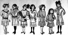 girls fashion 1912   Fashion for Girls 1912 by Edwardian-Bess on deviantART