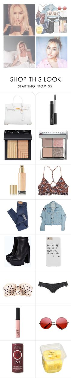 """""""I got fake people showing fake love to me"""" by fivesecondsofphan ❤ liked on Polyvore featuring Hermès, MAC Cosmetics, NARS Cosmetics, Bobbi Brown Cosmetics, Yves Saint Laurent, RVCA, Cheap Monday, Boohoo, Blush Lingerie and INDIE HAIR"""