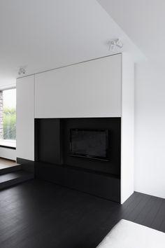 Minus Interior Architects ::  built-in TV cabinet