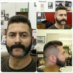 by The Legends Barber Shop shop in London shop mutton chops haircut Mustache Men, Moustache, Cool Haircuts, Haircuts For Men, Mutton Chops Beard, Hair And Beard Styles, Hair Styles, Sexy Beard, Sideburns