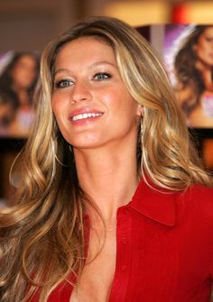 Gisele- would do awful things for that hair.