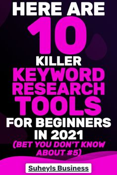 Check out how to actually do keyword research for bloggers and how to find keywords that you can actually rank for. Proper Keywords research gives you the opportunity to find several long-tail keywords that you can use for your blog and rank for, but without keywords research you are wasting your time. #keywordresearch #longtailkeywords #keysearch #bloggingtips #SuheylsBusiness Marketing Tools, Content Marketing, Online Marketing, Social Media Marketing, Marketing Strategies, Business Tips, Online Business, Seo For Beginners, Seo Tips