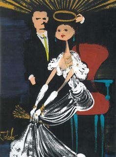 Ruben Toledo potrait of isabel toldeo and ruben toledo Isabel Toledo, Drawing For Beginners, Vintage Fashion Photography, Fashion Design Sketches, Couple Art, Weird And Wonderful, Fashion Images, Illustrators, Art Drawings