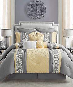 Look at this #zulilyfind! Farion Comforter Set #zulilyfinds