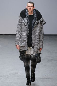 Casely-Hayford Fall 2015 Menswear - Collection - Gallery - Style.com // Textured Layers