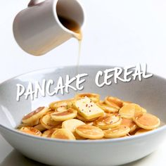 Fun Baking Recipes, Cereal Recipes, Baby Food Recipes, Tasty Videos, Food Videos, Tiny Cooking, Homemade Cereal, Tasty Pancakes, Mini Pancakes